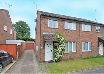 Thumbnail 3 bed semi-detached house for sale in Barnetts Field, Westergate, Chichester
