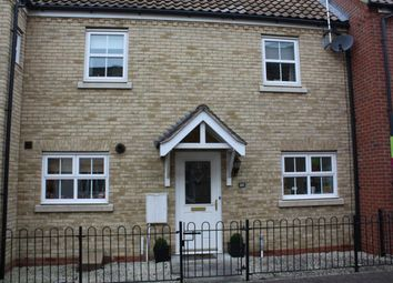 Thumbnail 2 bed terraced house to rent in Christie Drive, Huntingdon