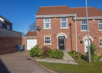 Thumbnail 3 bed semi-detached house for sale in Dockendale Place, Blaydon-On-Tyne
