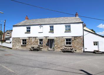 Pub/bar for sale in St Tudy, Cornwall PL30