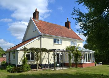 Thumbnail 4 bed detached house for sale in North Green Road, Pulham St. Mary, Diss