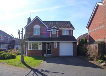 Thumbnail 4 bed detached house for sale in Cheviot Close, Trowbridge