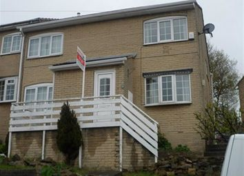 Thumbnail 2 bed town house to rent in Brownhill Road, Birstall, Batley
