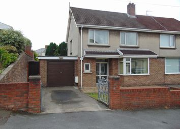 Thumbnail 3 bed semi-detached house for sale in Cae Cotton, Llanelli, Carms