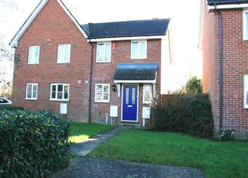 Thumbnail 2 bed semi-detached house to rent in Constantine Road, Ashford, Kent