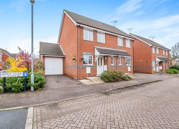 Thumbnail 2 bed semi-detached house for sale in Royce Close, Yaxley, Peterborough