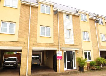 Thumbnail 4 bed terraced house for sale in Stockwell Road, Costessey, Norwich