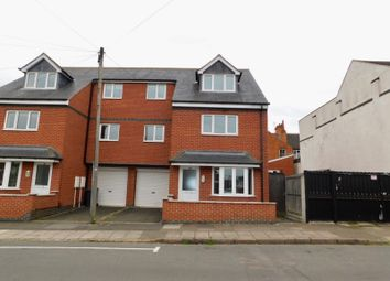 Thumbnail 4 bed town house to rent in Devana Road, Leicester