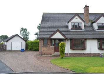 Thumbnail 3 bed semi-detached house to rent in Greenview, Parkgate, Templepatrick
