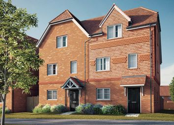 "Thumbnail 4 bed semi-detached house for sale in ""The Blackthorn"" at Copsewood, Wokingham"