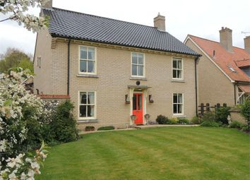 Thumbnail 4 bed detached house for sale in Church Walk, Beachamwell, Swaffham