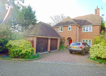 Thumbnail 4 bed detached house for sale in Culrose Court, Hertford Road, Stevenage, Hertfordshire