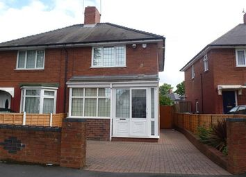 Thumbnail 2 bedroom semi-detached house for sale in Johnson Road, Wednesbury