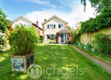 Thumbnail 3 bed detached house for sale in Grymes Dyke Way, Stanway, Colchester