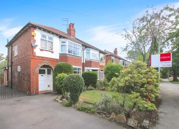 Thumbnail 3 bed semi-detached house for sale in Charlestown Road East, Woodsmoor, Stockport, Cheshire