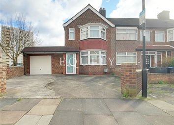 Thumbnail 3 bed end terrace house for sale in Exeter Road, Enfield
