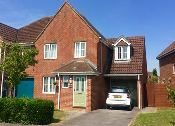 Thumbnail 4 bed semi-detached house for sale in Harvard Way, Amesbury, Salisbury