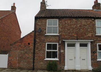 Thumbnail 2 bed end terrace house to rent in Back Lane, Easingwold, York