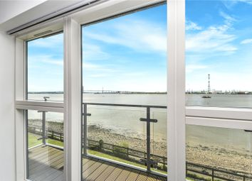 Thumbnail 2 bed flat for sale in Darbyshire House, Greenhithe, Kent