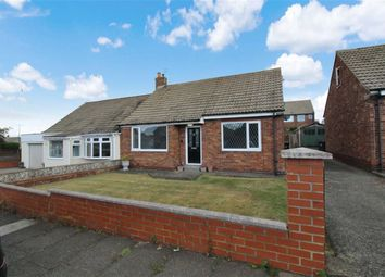 Thumbnail 2 bed semi-detached bungalow for sale in Harbottle Avenue, Shiremoor, Newcastle Upon Tyne