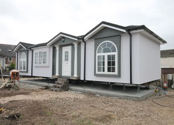 Thumbnail 2 bed mobile/park home for sale in Swanbridge Park Homes, London Road, Dorchester