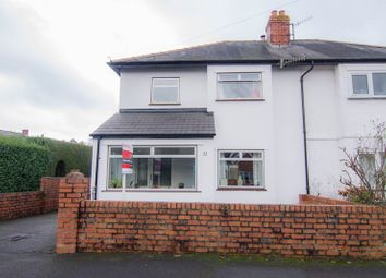 Thumbnail 3 bed semi-detached house for sale in St. Marys Road, Abergavenny