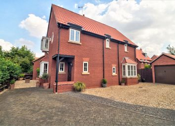 Thumbnail 4 bedroom detached house for sale in Longmead Drive, Fiskerton, Southwell