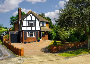 Thumbnail 3 bed detached house for sale in Larchwood Close, Banstead, Surrey