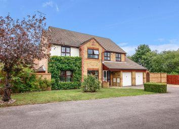 Thumbnail 4 bed detached house for sale in Shirley Moor, Kents Hill, Milton Keynes