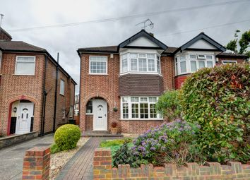 Thumbnail 3 bed semi-detached house for sale in Lynmouth Avenue, Enfield