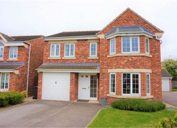 Thumbnail 4 bed detached house for sale in Paver Drive, Selby