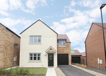 Thumbnail 4 bed detached house for sale in Deleval Crescent, Shiremoor, Newcastle Upon Tyne