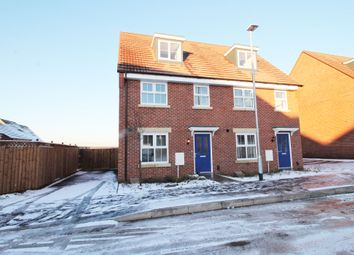 Thumbnail 3 bed semi-detached house to rent in Nightjar Way, Rainworth, Mansfield