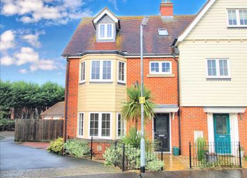 Thumbnail 4 bed town house for sale in Woden Avenue, Stanway, Colchester