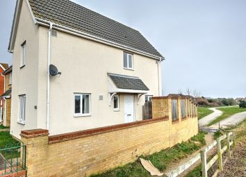Thumbnail 2 bed end terrace house for sale in Killick Crescent, Lowestoft