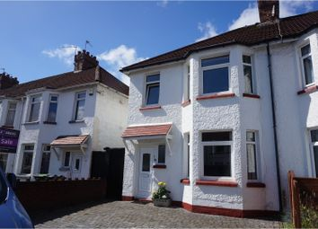 Thumbnail 3 bed semi-detached house for sale in Fairwater Grove West, Llandaff