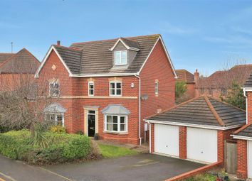 Thumbnail 5 bed detached house for sale in Langford Gardens, Grantham