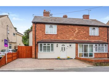 Thumbnail 3 bed semi-detached house for sale in Kelvedon Road, Witham