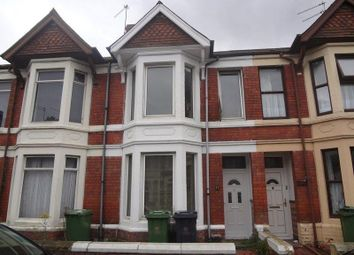 Thumbnail 5 bed terraced house to rent in Gelligaer Street, Cathays Cardiff