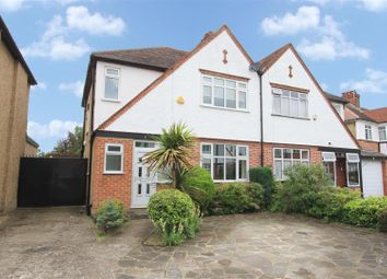 Thumbnail 3 bed semi-detached house for sale in Chandos Road, Pinner