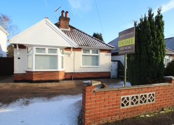 Thumbnail 2 bedroom detached bungalow for sale in Temple Road, Ipswich