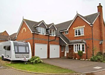 Thumbnail 5 bedroom detached house for sale in Foxglove Close, Northampton