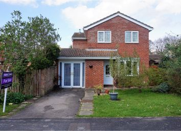 Thumbnail 4 bed detached house for sale in Langham Close, North Baddesley