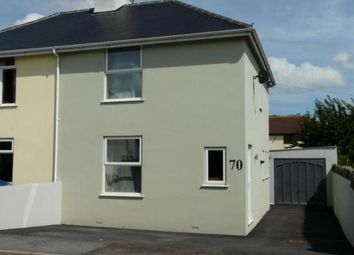 Thumbnail 2 bed semi-detached house for sale in Exeter Road, Kingsteignton, Newton Abbot, Devon
