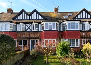Thumbnail 4 bed terraced house for sale in Broughton Avenue, Ham, Richmond