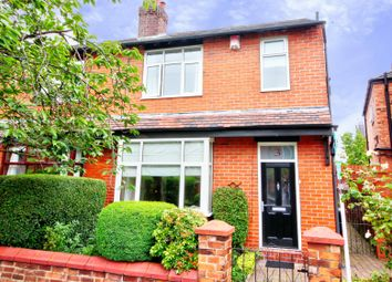 Thumbnail 3 bed semi-detached house for sale in Torquay Grove, Stockport