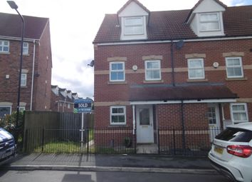 Thumbnail 3 bed town house to rent in The Mount, Woodlaithes, Rotherham