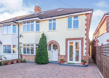 Thumbnail 5 bed semi-detached house for sale in Holland Gardens, Thorpe, Egham, Surrey