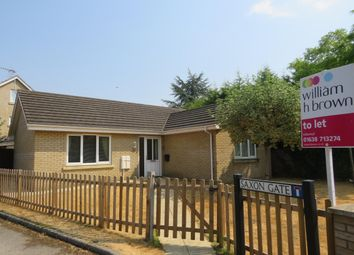 Thumbnail 2 bed bungalow to rent in Saxon Gate, Holywell Row, Bury St. Edmunds