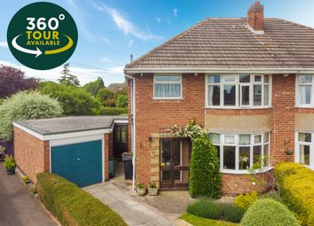 Thumbnail 3 bed semi-detached house for sale in Primrose Hill, Oadby, Leicester